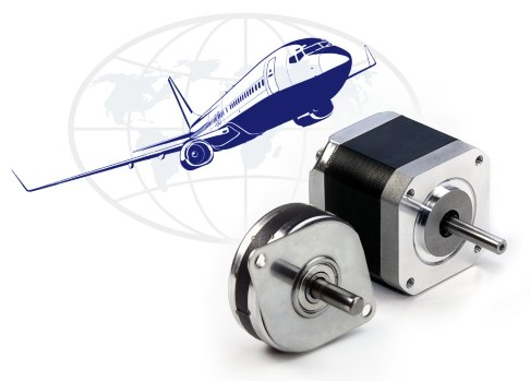 AS9100 compliant stepper motors